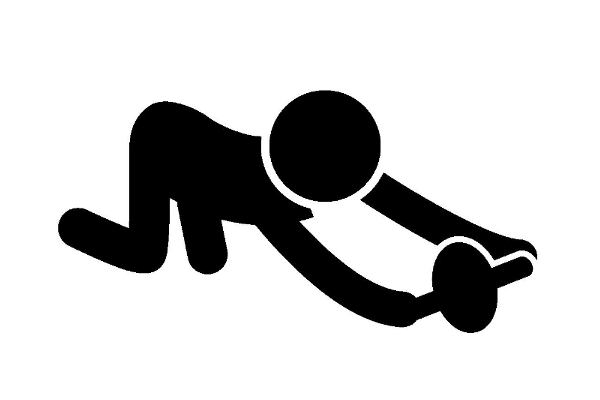 腹筋を鍛える~腹筋ローラー