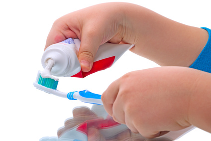 歯ブラシ 歯磨き粉