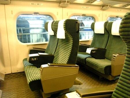 グリーン車 新幹線