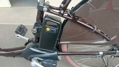 パナソニック「ギュットDX」 バッテリー