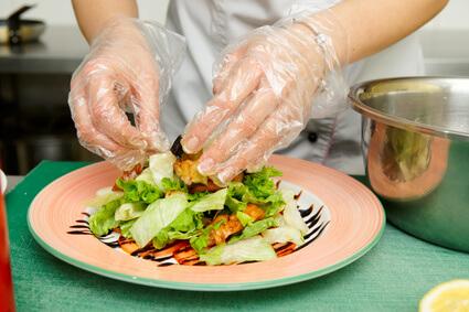 料理 手袋
