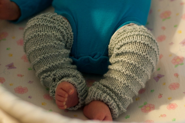 赤ちゃん レッグウォーマー