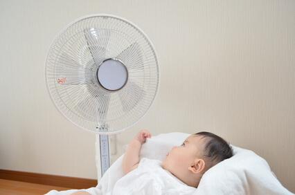 赤ちゃん 扇風機