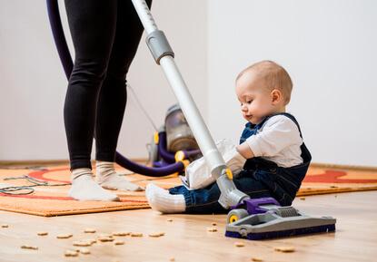 赤ちゃん 部屋掃除