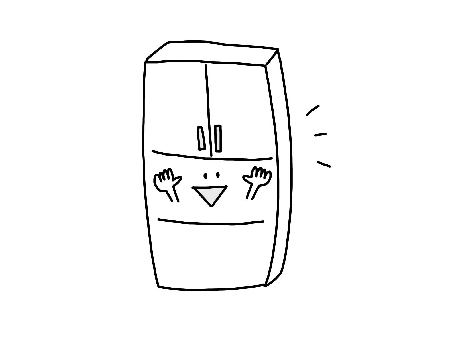 冷蔵庫,コンセント