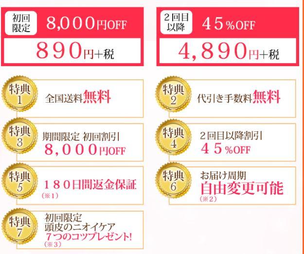 キュアラフィ 値段