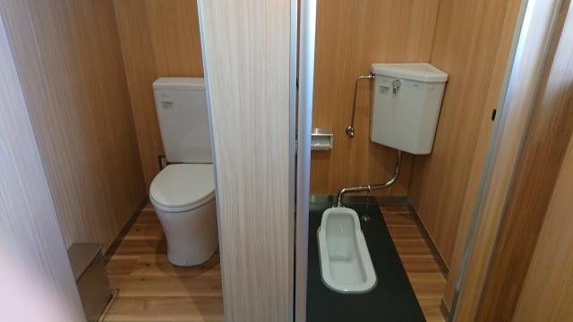 和式,洋式トイレ