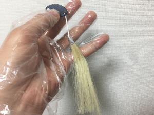 白髪のサンプル